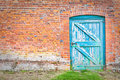 Wonky door Stock Photography