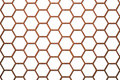 Wood Bee Hive Background Smaller Cells Stock Image