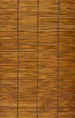 Wood blind background wooden timber rattan style Royalty Free Stock Photos