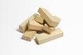 Wood Blocks Pile