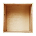 Wood box Royalty Free Stock Photos