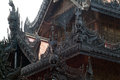 Wood carving at shwenandaw monastery in mandalay myanmar or golden palace city middle of Stock Photography