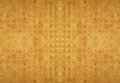 Wood ceramic mosaic tile background for interior property Royalty Free Stock Images
