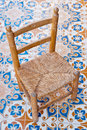 Wood chair Royalty Free Stock Photography