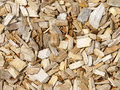 Wood chip bark Royalty Free Stock Photo