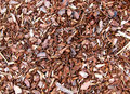 Wood Chip Garden Mulch Royalty Free Stock Photo