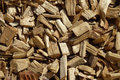 Wood chip pattern Stock Photos