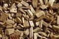 Wood chip pattern Stock Photos