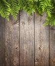 Wood Christmas Tree Background