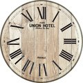 Wood clock union hotel clock wood clock