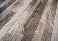 Wood decking boards for exterior background Royalty Free Stock Image
