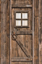 Wood door Stock Photo