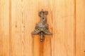 Wood door. Royalty Free Stock Photo