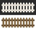 Wood fence background– vector