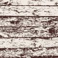 Wood fence grunge background, brown and white pine bark texture. Vector Royalty Free Stock Photo