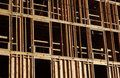 Wood framing Royalty Free Stock Photo