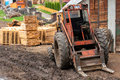 Wood industry outdoors Stock Photo