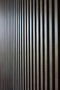 Wood lath wall dark background Royalty Free Stock Images