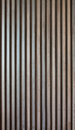 Wood lath wall dark background Stock Photo