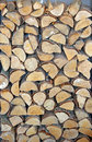Wood logs photo of chopped up ready to go on the fire Royalty Free Stock Image