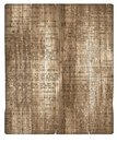 Wood Parchment Background Newsprint Royalty Free Stock Photo
