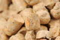Wood Pellet (Pine) Cat Litter Close-Up Royalty Free Stock Photos