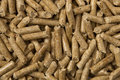 Wood-pellets Stock Image