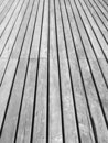 Wood in Perspective Texture Royalty Free Stock Image