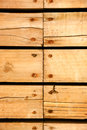 Wood plank background yellow texture Stock Photography