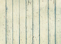Wood plank fence with an old paint white color close up Royalty Free Stock Photo
