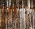 Wood planks background old knotted wooden texture Royalty Free Stock Photo