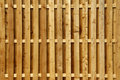 Wood Privacy Fence Stock Photography