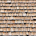 Wood Roof Shingles Stock Photos