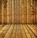 Wood room Royalty Free Stock Image