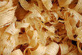 Wood shavings Royaltyfria Bilder