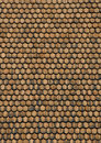 Wood shingle roof Royalty Free Stock Photo