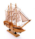 Wood ship Royalty Free Stock Image