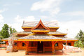 Wood temple Royalty Free Stock Photography