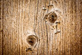 Wood texture background closeup old wood board knots Stock Photo