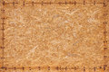 Wood texture background old panels sawdust and nails Stock Images