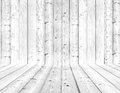 Wood texture background white interior Stock Photography