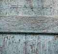 Wood texture blue tint horizontal Royalty Free Stock Photos