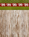Wood Texture Knitted Sweater, Seamless Background, Wooden Winter Royalty Free Stock Photo