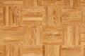 Wood texture - oak parquet floor Royalty Free Stock Photo