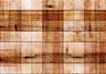 Wood texture with square patterns Royalty Free Stock Photo
