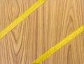 Wood texture with veneer closeup Royalty Free Stock Photos