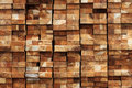 Wood timber  construction material for background and texture. Royalty Free Stock Photo