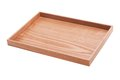 Wood tray Royalty Free Stock Photography