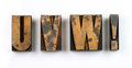 Wood Type Stock Photos