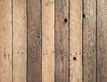 Wood Wall Background With Knot...